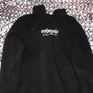 Undefeated black hoodie